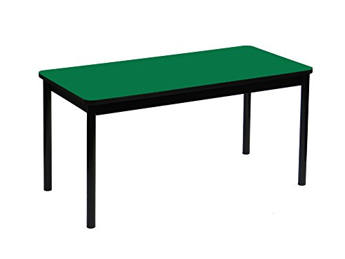 Correll LR2472-39 High Pressure Library Table, 24 x 72 x 29 in. - Green by Correll