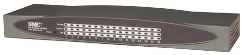 Smc Stand - SMC SMC-EZ6516TX 16-Port 10/100Mbps Standalone, Unmanaged SOHO Switch