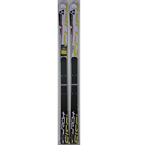 (Fischer 2012 RC4 WC GS JR Hole Race Skis w/Race Plates 140cm)