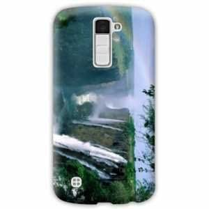 Amazon.com: Case Carcasa LG K10 Montagne - - chute deau B ...