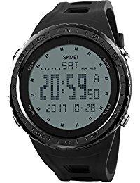 Digitale Uhren Offen Skmei Männer Fashion Outdoor Sport Armbanduhren Luxus Gold Quadrat Digitale Uhren Edelstahl Military Watch Uhren Hombre Herrenuhren