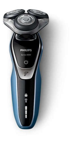 Philips Series 5000 Wet/Dry Shaver with Turbo - S5380