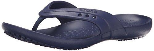 Crocs Womens Kadee Flip Flop Navy Nautico