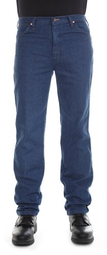 Big Mens Wrangler Jeans - Wrangler Men's Cowboy Cut Slim Fit Jean, Prewashed Indigo, 36x29