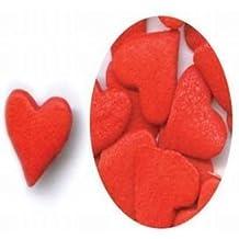 Jumbo Red Heart Sprinkles by KreativeBaking
