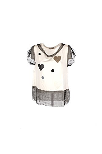T-shirt Donna Lolita S Bianco P70190 Primavera Estate 2017