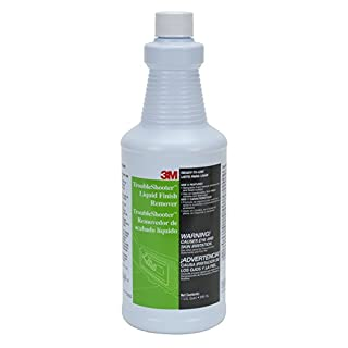 3M TroubleShooter Liquid Finish Remover, Quart