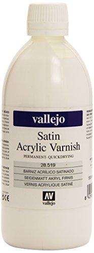 Liquid Varnish - Av Vallejo -liquid Varnish - 500ml Satin