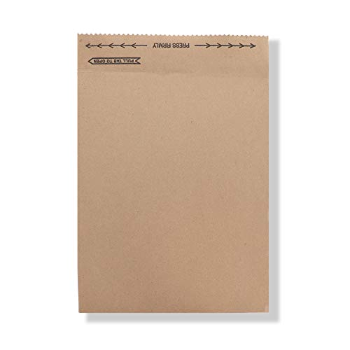 Jiffy Rigi Bag Mailer 891392 8-3/8 x 10-3/8 Natural Kraft (Pack of 250)