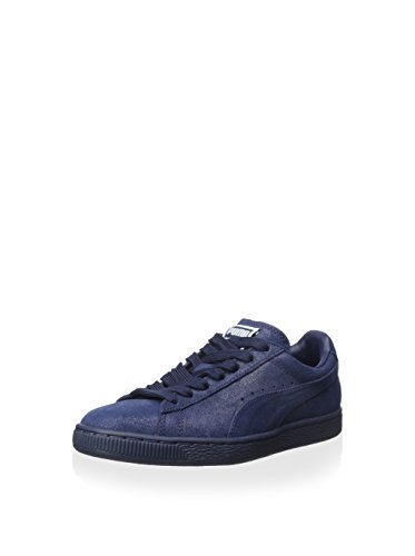 Puma Femmes Daim Classique Mat & Shine Sneaker Peacoat