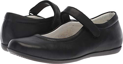 Primigi Kids Girl's PFA 24393 (Big Kid) Black Leather 37 M (Black Kid Leather Footwear)