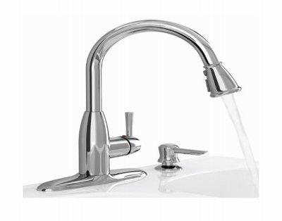 American Standard Kitchen Faucet Single Handle Mckenzie 2.2 Gpm 8