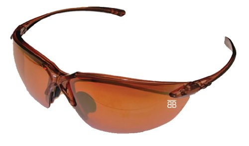 BTB-130 Sport Optic with Crystal Brown Frame and HD Copper - Btb Sunglasses