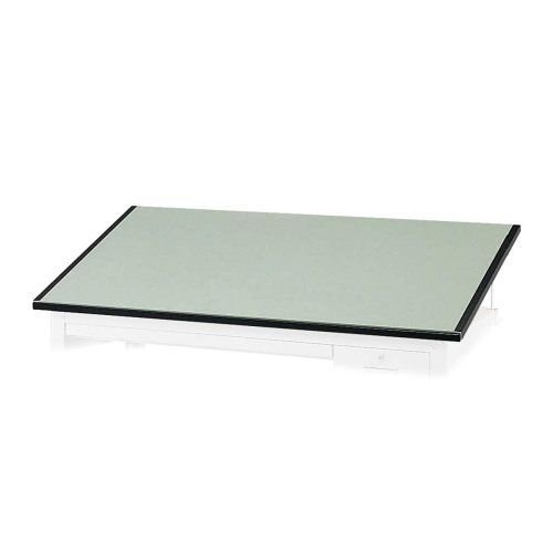 (Safco Precision Drafting Table Top - Rectangle - 37.50quot; x 60quot; - Green Top)