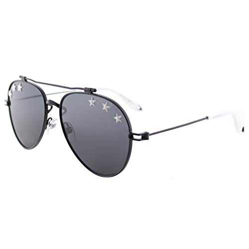 Givenchy Women's Stars Aviator Sunglasses, Black/Grey Blue, One Size