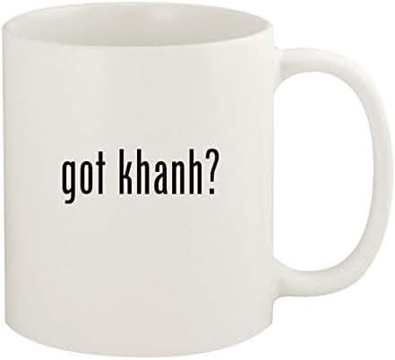 got khanh? - 11oz Ceramic White Coffee Mug Cup, White