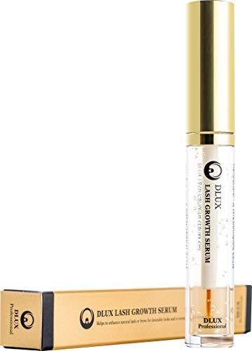 89ecdc2bb06 Amazon.com: DLUX PROFESSIONAL LASH SERUM SET (5ml) CLEAR/NATURAL INGREDIENTS /GROWTH & TREATMENT/HEALTHY LASH GROWTH/Eyelash coating/SHINING &  GLOSSING/Made ...