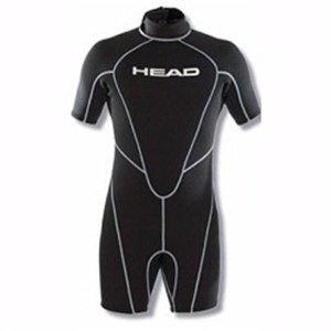Mares Head Mens Wave 2.5mm Shorty (Black/Silver, X-Large) ()