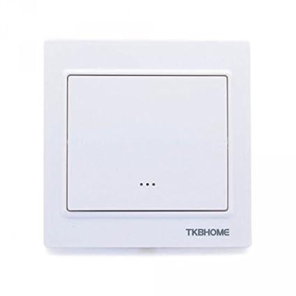 TKB Home Interruptor de Pared con 1 -RW Balancín, 1 Pieza, tkbetz56 de
