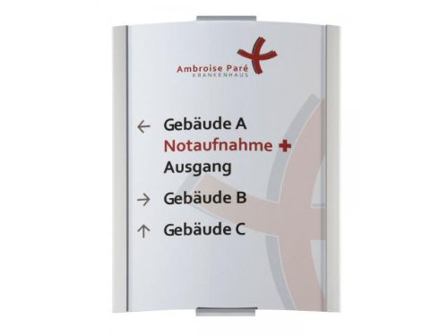 T/ürschild Frankfurt DIN A5 210x155mm Wandschild Schildersystem Leitsystem i 2105