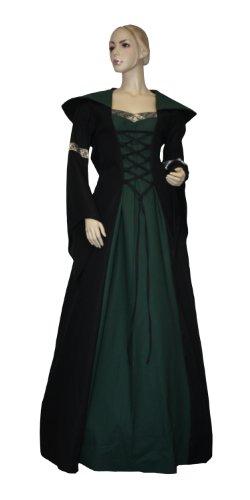 Mittelalter Gothic Mittelalterkleid Gr Kleid LARP Delia 46 Gewand K39 EwIxqIC4