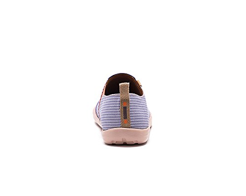 UIN Umarmung Bemalte Damen Canvas Slip-on Schuhe Violett