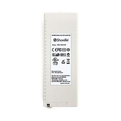 ShoreTel Shorephone Gigabit PoE Adapter (PD-3501G/AC) by ShoreTel