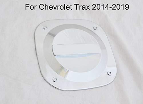 Yingchi Chrome Car Fuel Gas Tank Cap Cover Gas Door Cover Trim Emblems for Chevrolet Trax 2014-2019 Chrome Trim Accessory Gas Tank