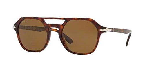 Persol Mens Sunglasses Tortoise/Brown Acetate - Polarized - ()