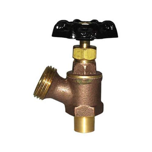 Legend Valve 107-148 Sweat Brass Boiler Drain Valve 2x3.3x2 2x3.3x2
