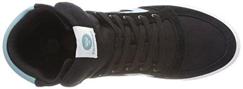 Hummel Unisex-Erwachsene Slimmer Stadil High TW Hohe Sneaker Schwarz (Black)