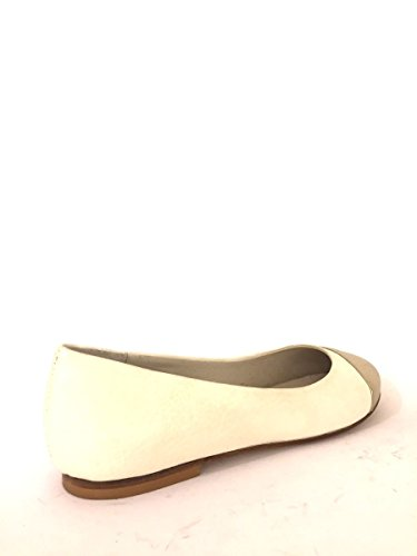 Scarpe Zeta Made Pelle Bicolor Ballerine Mainapps Dd82 Italy Beige Shoes In rwqrfF4