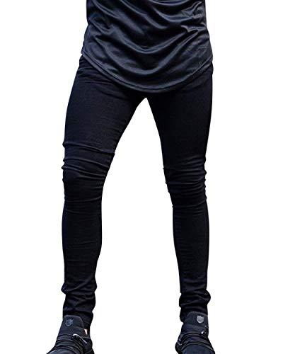 De Vaqueros Estrechos De Vaqueros Skinny Pantalones Fashion De Pantalones Vaqueros Pantalón Elásticos Pantalones Mezclilla Hombre Mezclilla Lannister Negro De FqvgnTY