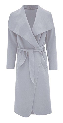 Generic - Manteau - Trench - Femme multicolore Multicoloured Taille Unique gris clair