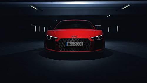 (Audi R8 V10 Plus Car Poster Print #2 (24x36 Inches))