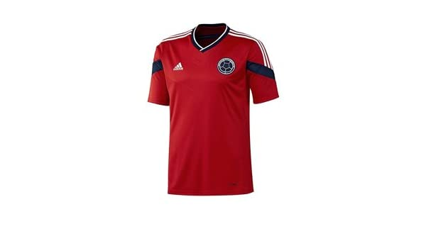 Amazon.com : Adidas Camiseta Visitante Selección Colombia (G87250) Colombia Away Jersey (L) : Sports & Outdoors