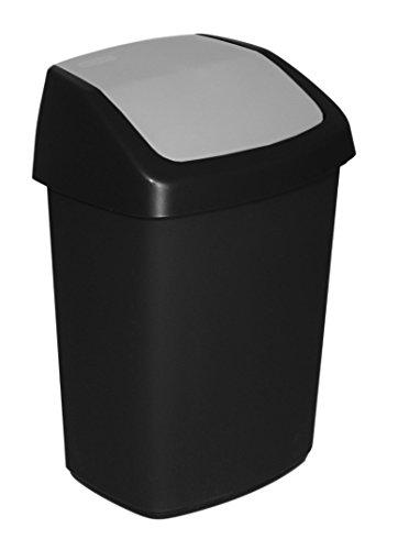 CURVER 03986-Y09-40 Papelera Rectangular - Cubo de Basura (Rectangu