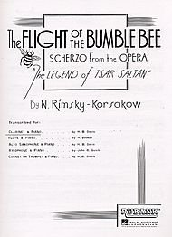 B Flat Clarinet Solos w Piano Flight Of The ()