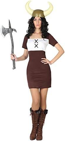 Atosa- Disfraz Mujer vikinga,, M-L (7417): Amazon.es: Juguetes y ...