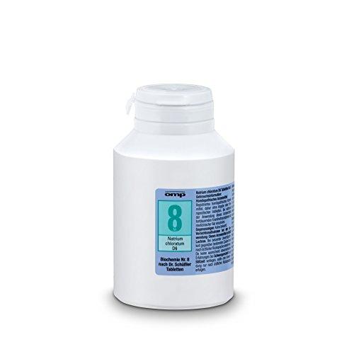 Schuessler Salz Nr. 8 Natrium chloratum D6 - 1000 Tabletten, glutenfrei