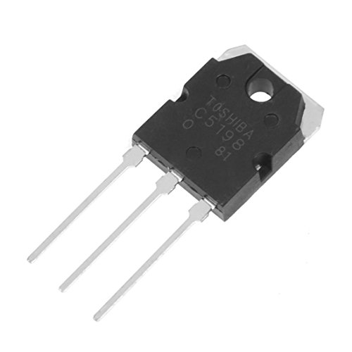 SODIAL(R) Pair A1941 + C5198 10A 200V Power Amplifier Silicon Transistor