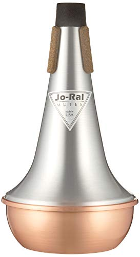 Jo Ral TRB-1C Copper Tenor Trombone Straight Mute