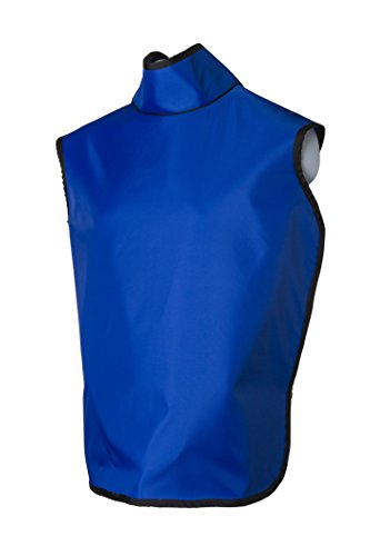 Dental Radiation Lead Apron with Collar and Hanging Loops - Lightweight - Adult by Quick Ship Lead Apron