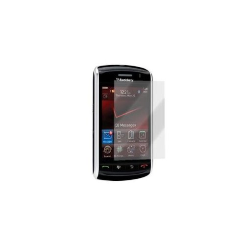 Naztech 10283 Skinnie Snap-On Cover and Screen Protector Combo for BlackBerry Storm 9530 - Carrying Case - Non-Retail Packaging - Clear ()