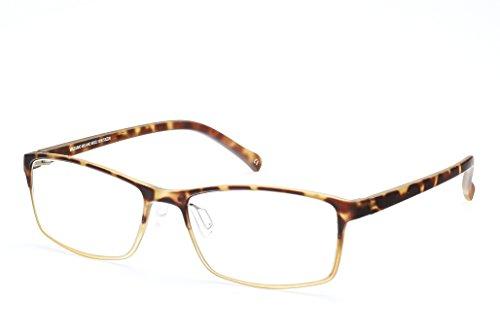 Cagalli Cr1016 Vintage Rx Eyeglasses Clear Lens Glasses Lightweight Rx - Aviator Eyeglasses Rimless