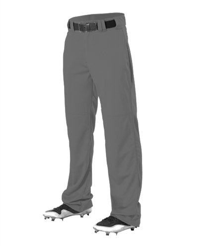 Alleson Adult Adjustable Inseam Baseball Pants - Charcoal - 2X-Large ()
