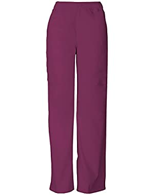 Men's Button Closure Zip Fly Pull-On Pant,81006