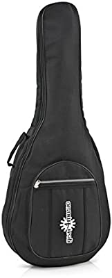 Funda Acolchada de Guitarra Acústica de 3/4 de Gear4music: Amazon ...