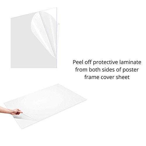 FrameMaster-24×36-Poster-Frame-1-Pack-Pre-Assembled-with-Sturdy-MDF-Backer-Board-Black