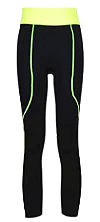 AM CLOTHES Womens Fitnss Stretch Slim Waistband Yoga Ankle Pants